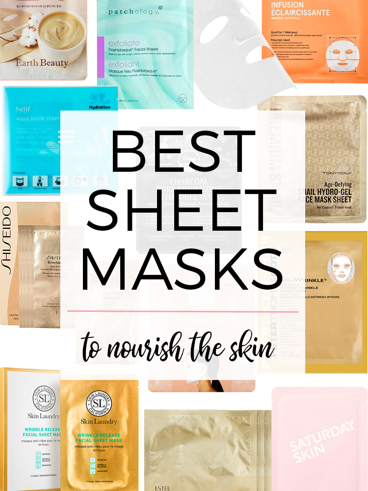 The Best Sheet Masks to Nourish Skin