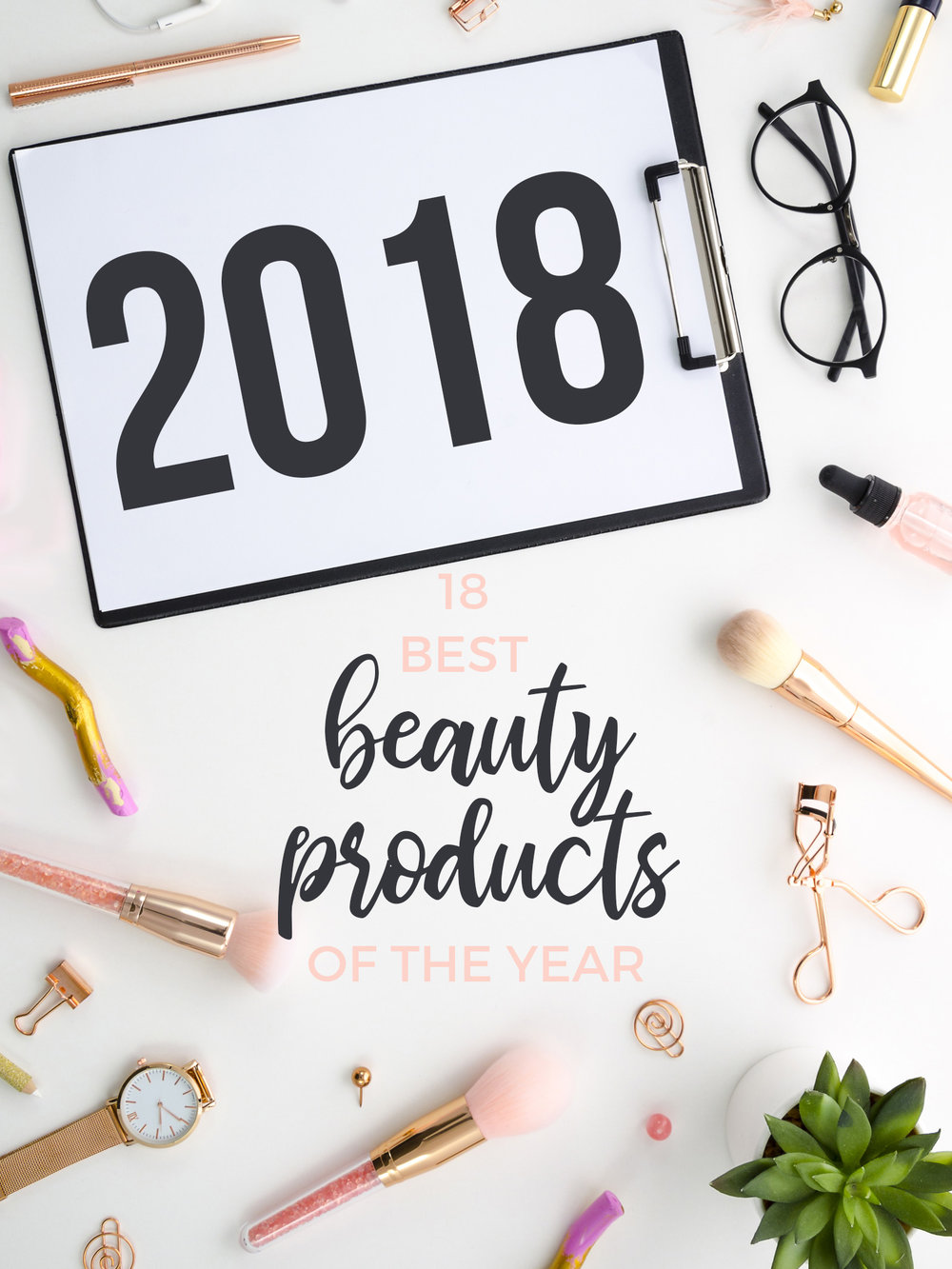 18 Best Beauty Products of 2018