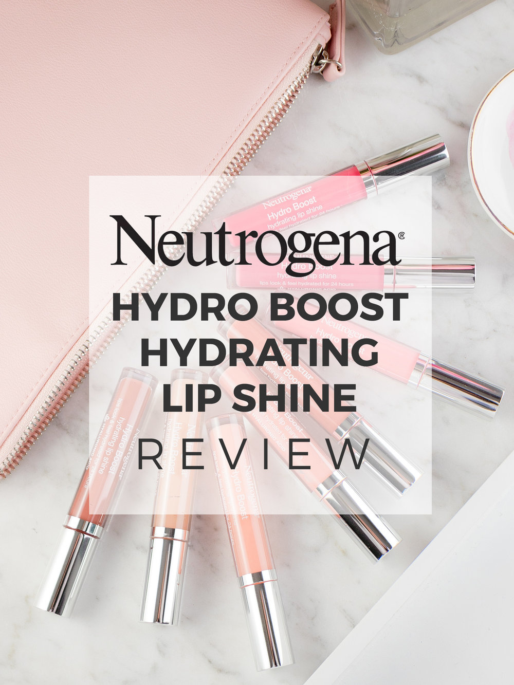 Neutrogena Hydro Boost Hydrating Lip Shine Review
