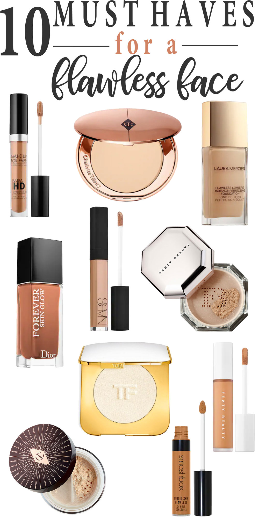 10 Must Haves for a Flawless Face