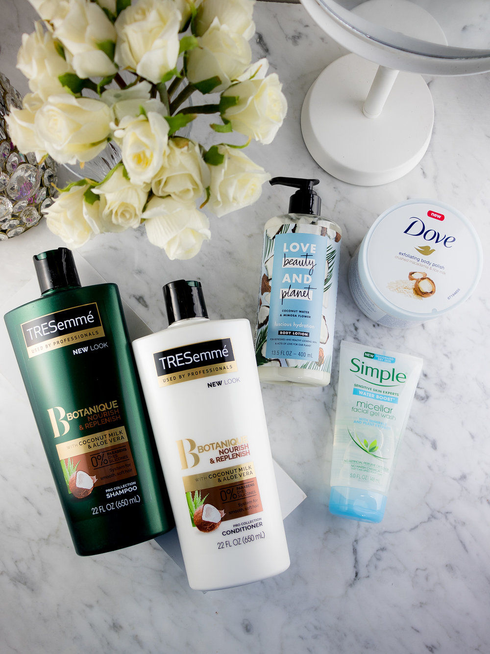 A NEW Personal Care Routine with Unilever Products