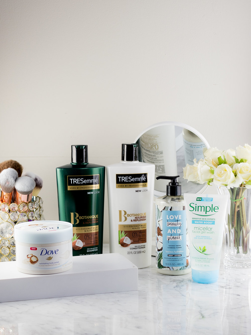 A NEW Personal Care Routine for Spring with Unilever Products
