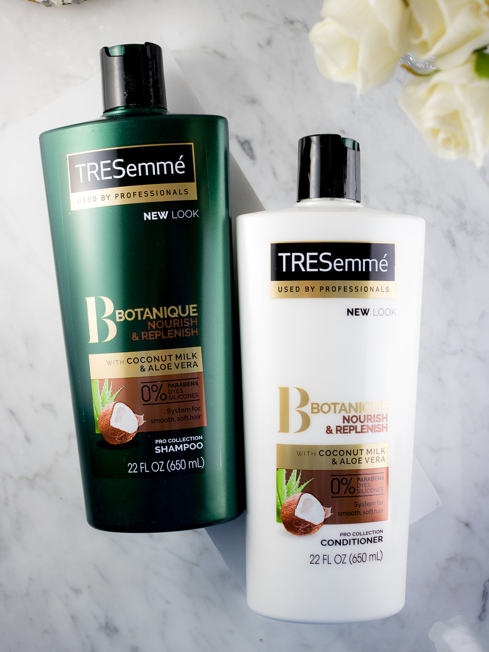 Botanique Nourish & Replenish with Coconut Milk & Aloe Vera Shampoo and Conditioner