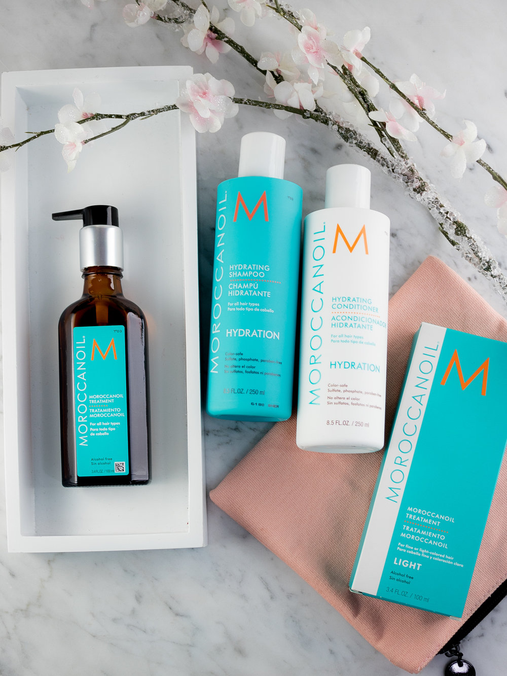 Hair Hydration Help from Moroccanoil