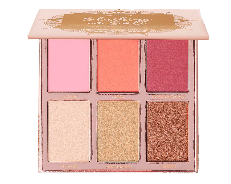 BH Cosmetics Blushing in Bali Blush & Highlighter Palette