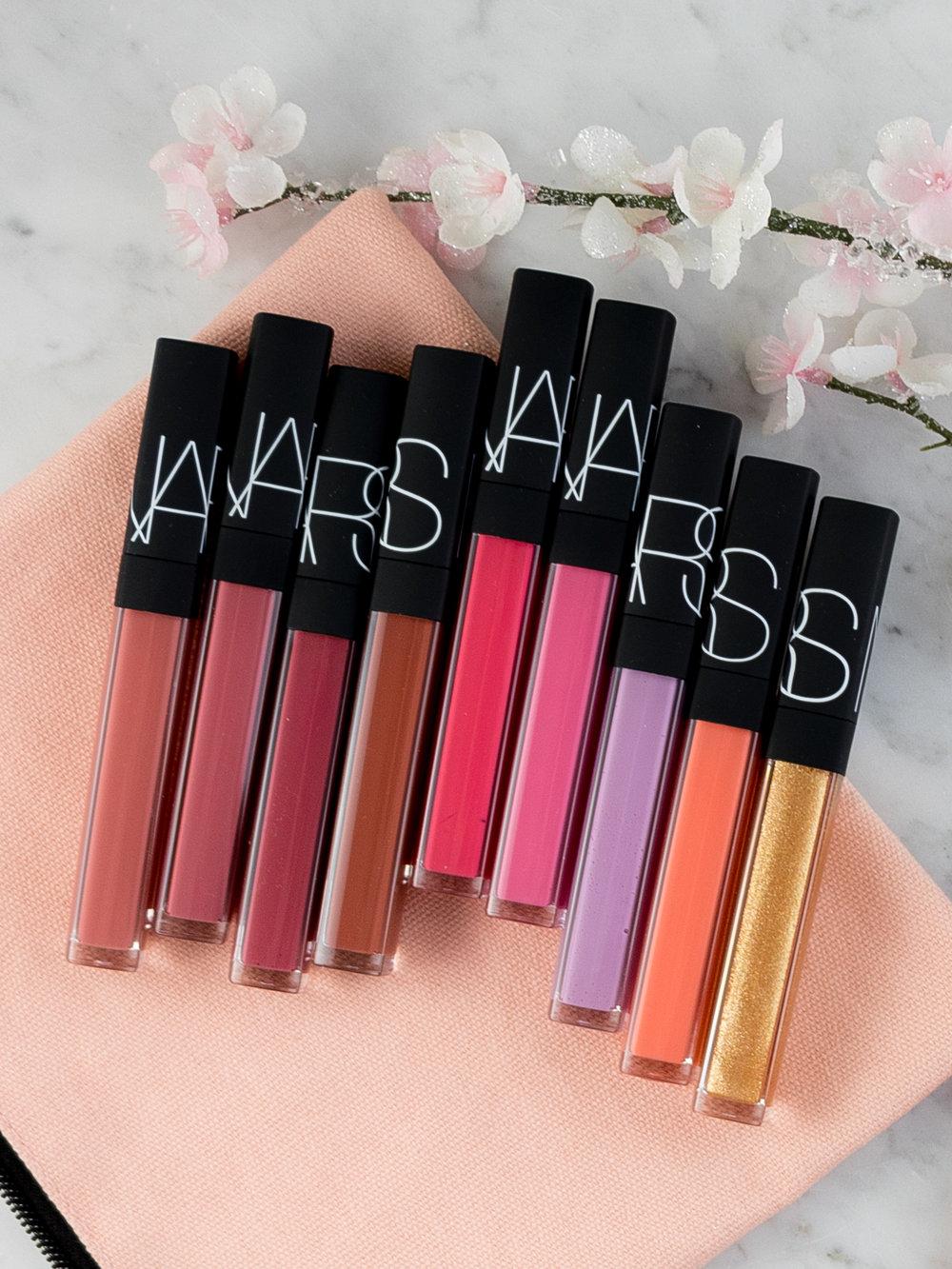 NARS Lip Gloss Shade Extension + Multi-Use Gloss