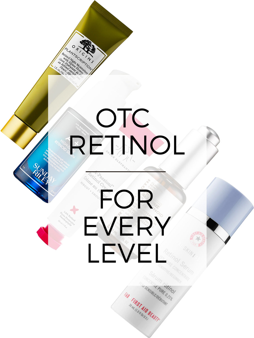 Retinol FAQ and 5 OTC Recommendations