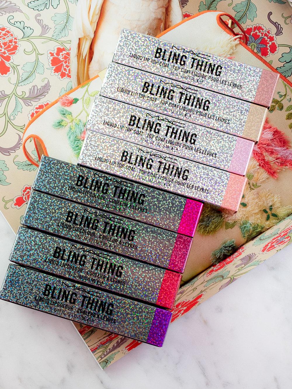 MAC Bling Thing Liquid Lipcolour and Liquid Lip Top Coat