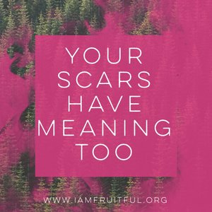 Image result for jesus Your Scars Are For A Reason