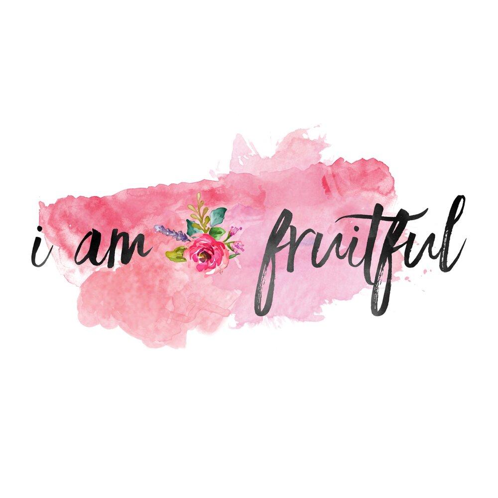 NIAW — I am Fruitful