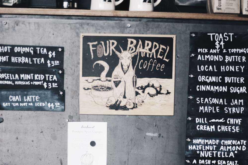 Four Barrel Coffee Shop