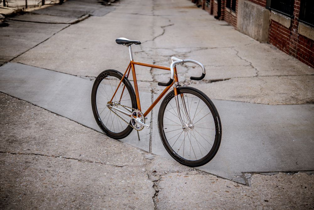 Chris Bishop Columbus Gilco Fixed Gear Bicycle Build