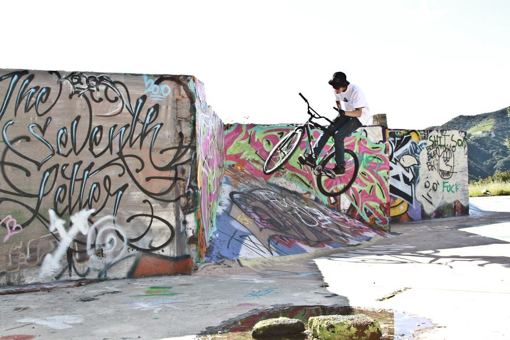 fixed gear bar spin by michael chacon