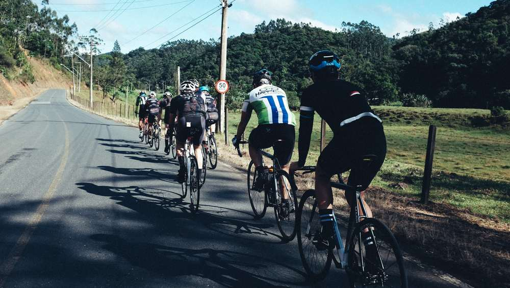 group ride with Marlon Hammes