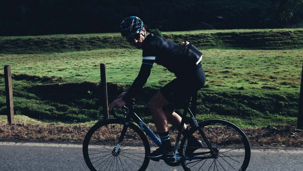 photo of Marlon Hammes cycling