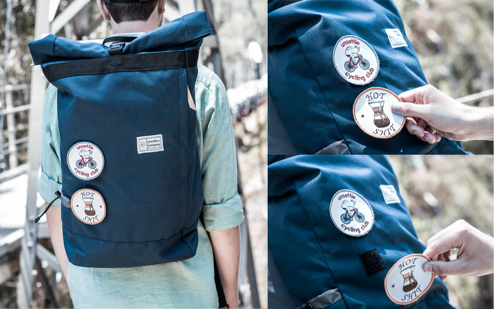 Personalize Your Carry, Your Way - Our Detachable Patch System allows you to customize your bag however you'd like. We've got plenty to choose from.