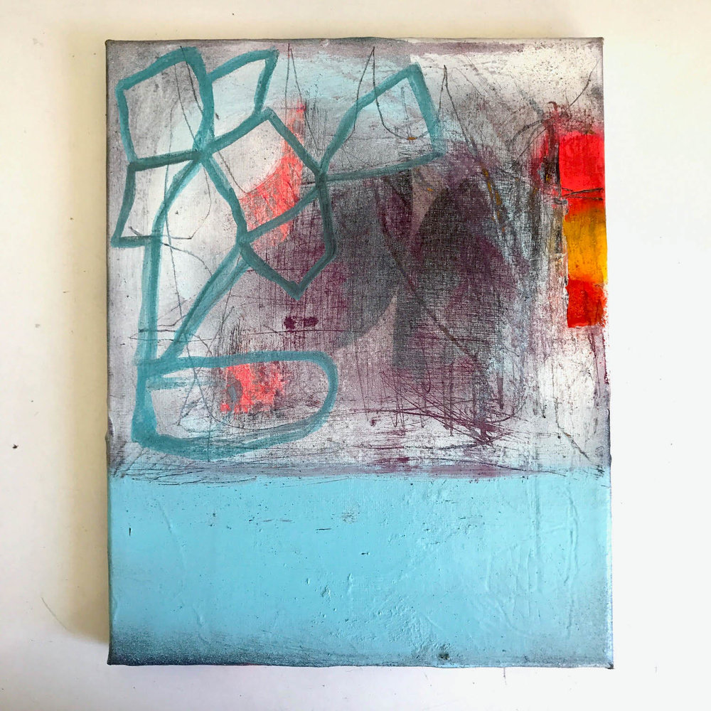 grafitti inspired abstract art by bret brown