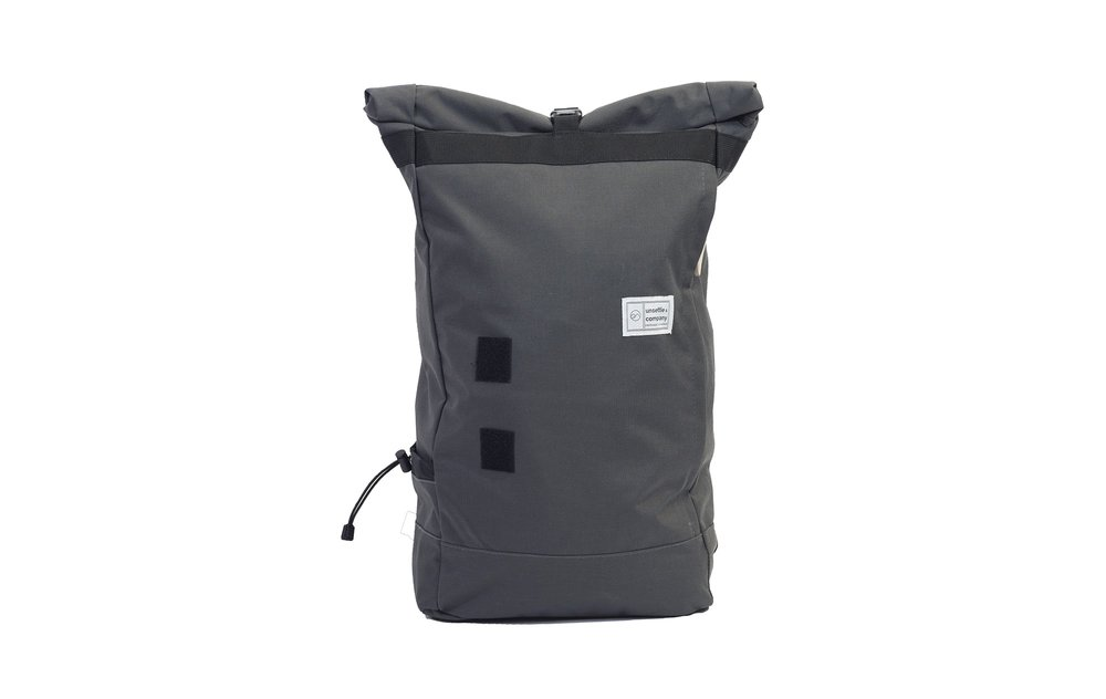 commuter rolltop backpack | slate gray