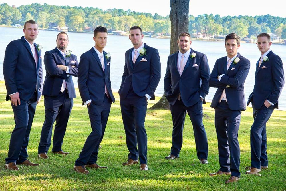 Lake Cherokee Groom Groomsmen GQ Pose Texas.jpg
