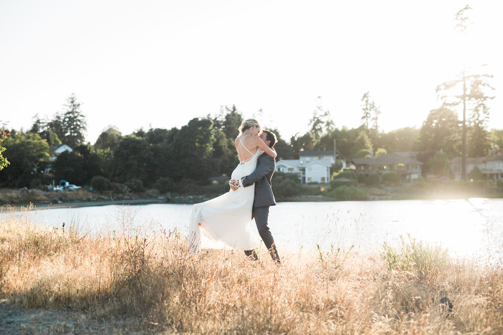 C & B | SOOKE HARBOUR HOUSE WEDDING |