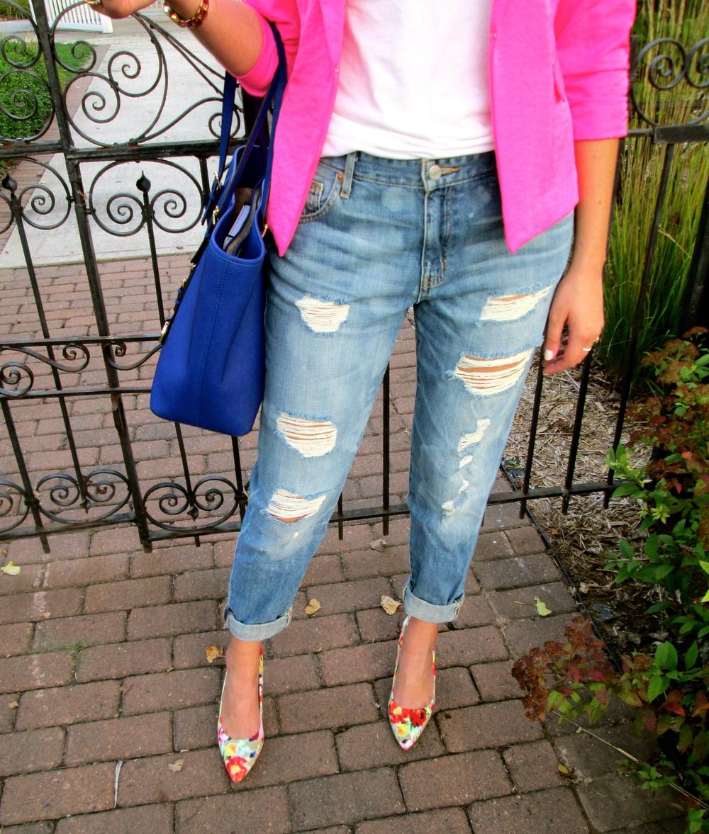 Boyfriend Jeans + Blazers