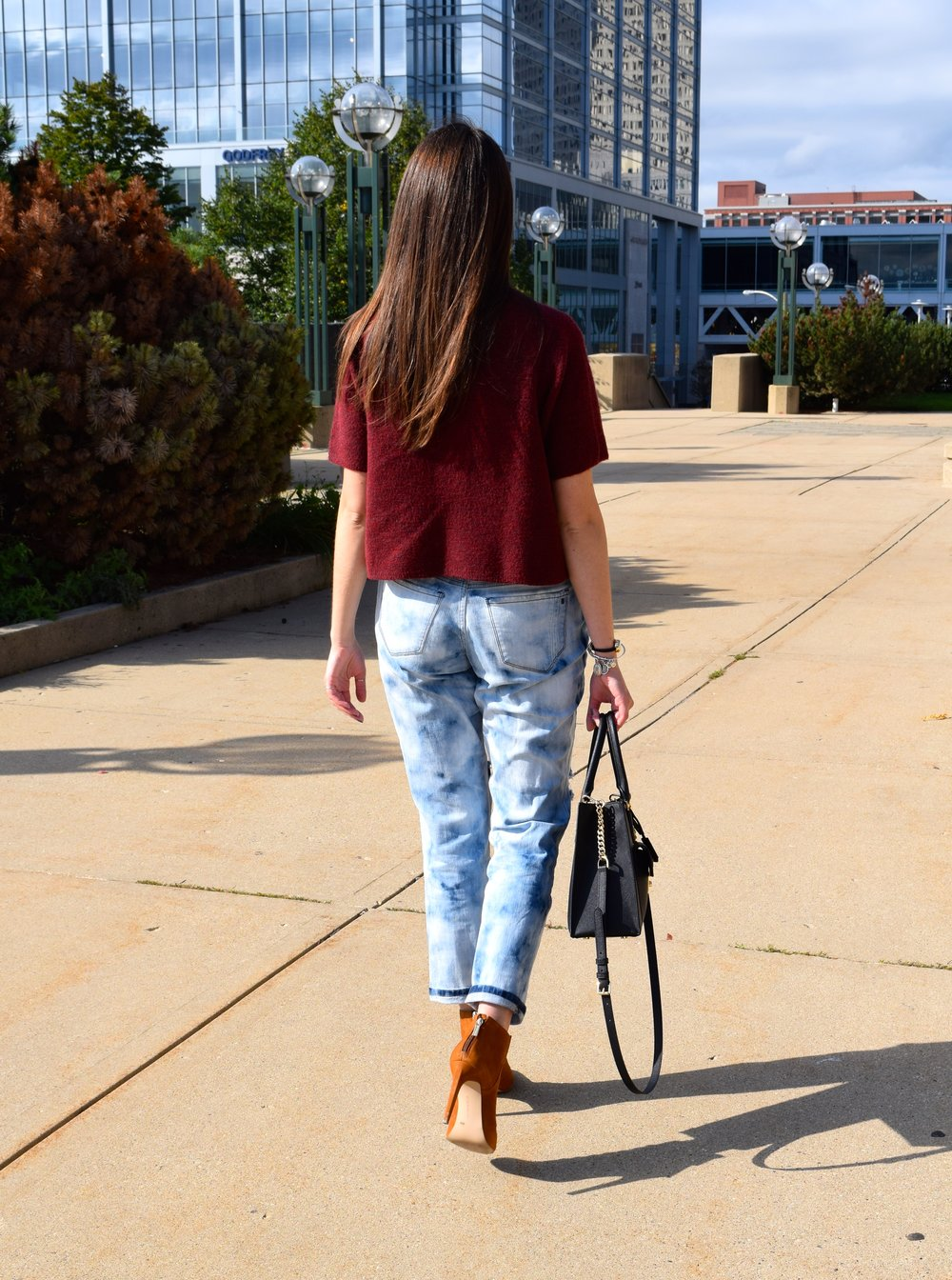 BF Jeans & Booties