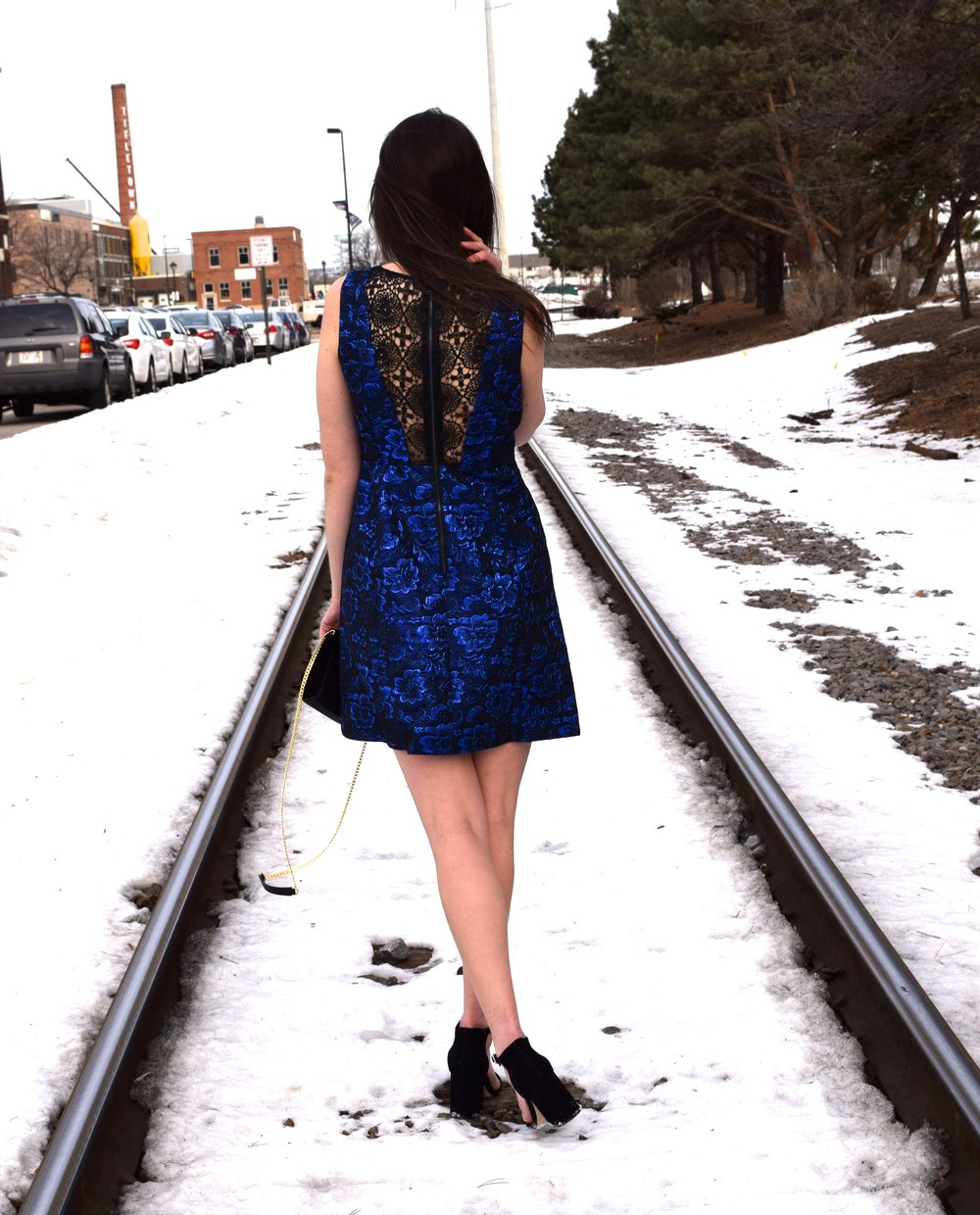 Perfect Winter Party Dress