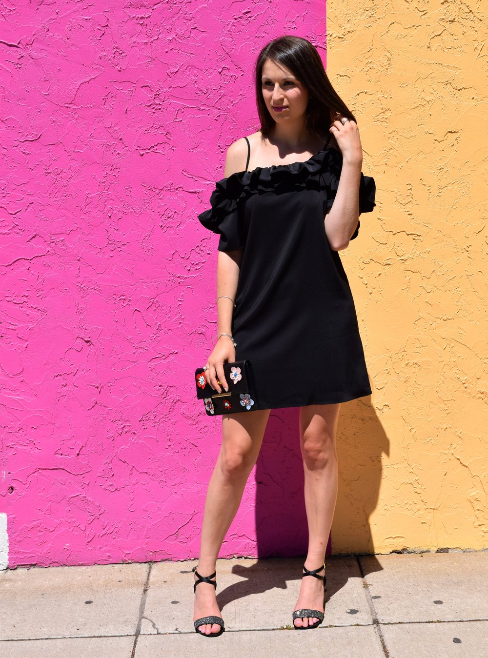 Asos Ruffle Dress
