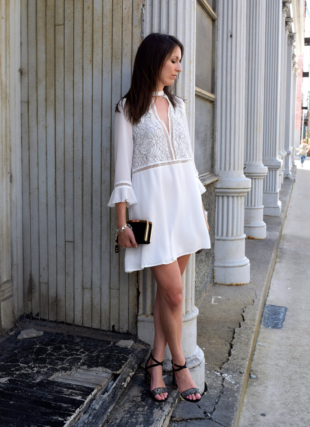 Tobi White Dress