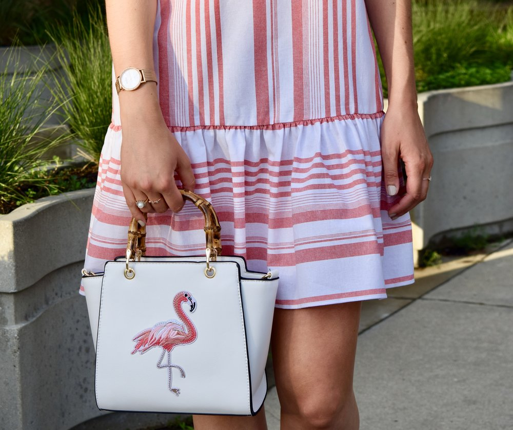 Bamboo Flamingo Bag