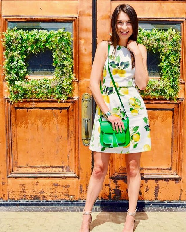 Finish this line: When life gives you lemons 🍋....All outfit details linked on the blog! #stylesangria #adriannapapell  www.stylesangria.com