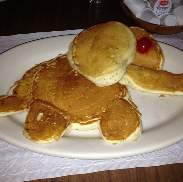 "The ""Big Al Pancake""."