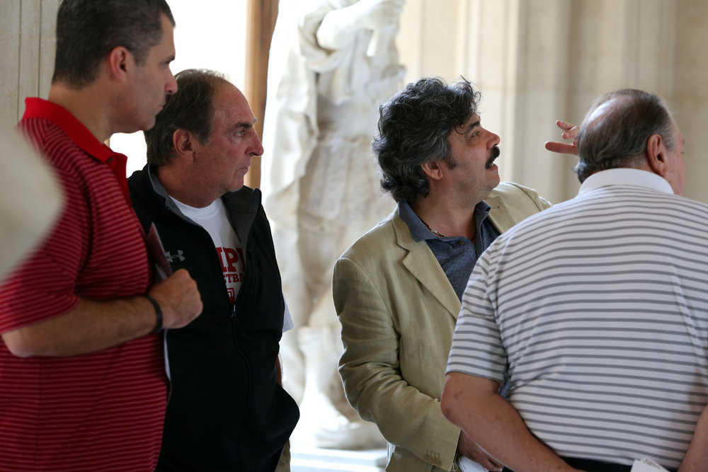 It was an unforgettable 10 days as Temple basketball toured France and Italy in the summer of 2013. Stops included the Louvre and the breathtaking Sistine Chapel.