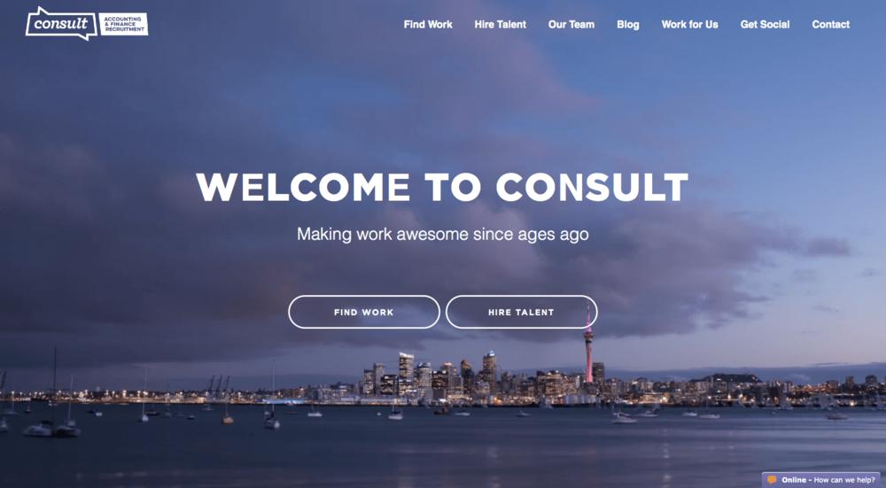 Consult Recruitment - Website