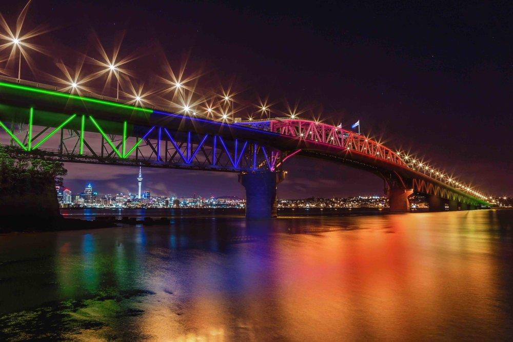 Vector - bridge light