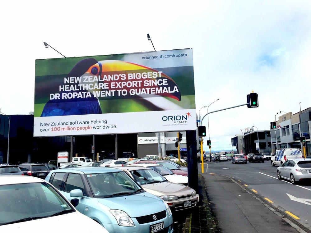 Orion - Ropata billboard