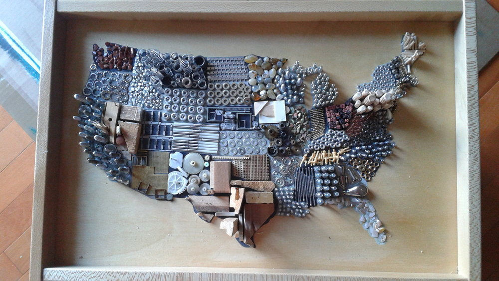 Gretchen Wright - Gretchen Wright Designs, Assemblage