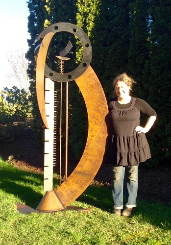 Cristi Mason-Rivera - Mason-Rivera Sculpture, Metal