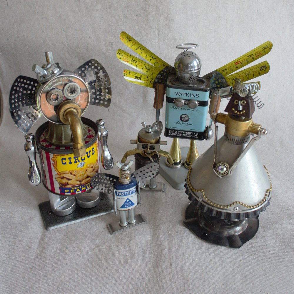 Nancy Lindahl - Fairy Junk Mother, Metal