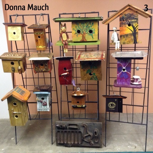 Donna Mauch - 2nd Site Yard Art and Furniture, Wood