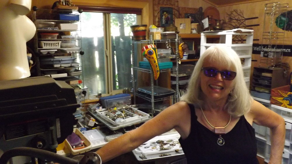 Linda Barker - My husband and I traveled to Troutdale for one of the earliest shows. I saw more creativity exhibited there than many art galleries. Along with the art, what creating from recycled material does for our environment is very important to me. lindab@bendcable.com