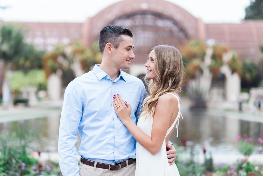 balboa-park-engagement