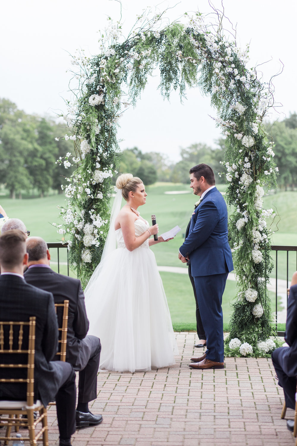 pointe west golf course wedding