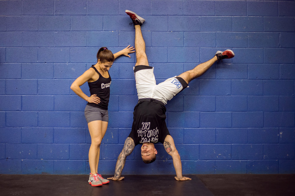 crossfit engagement session