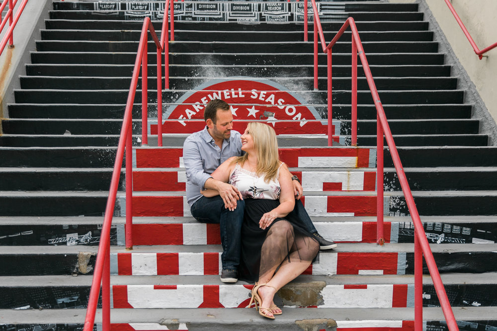 detroit red wings engagement session