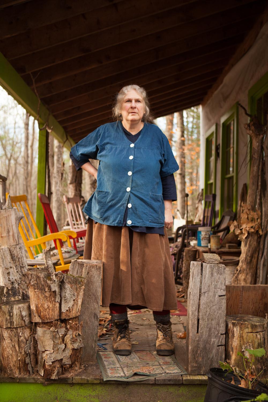 Writer Carolyn Chute- Parsonsfield, Maine