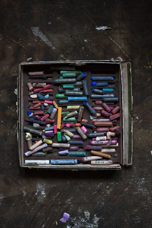 Artist's pastels