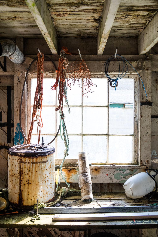 Bait shack, Newfoundland