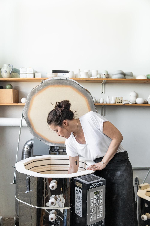 Ceramic Artist Kimberly Huestis