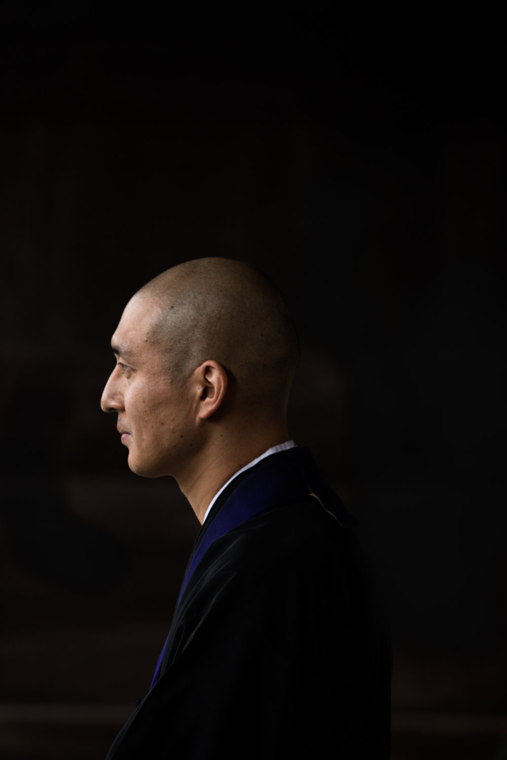 Ten, Buddhist monk- Kyoto, Japan